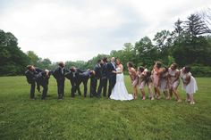 Enjoying themselves! |Lizzie+Dave| Happy Days Lodge| Marissa Decker Photography