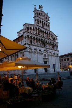 Lucca, Italy - Piazza San Michele