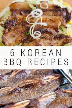 6 Easy Korean BBQ Marinades for Every Palate Easy Korean BBQ Marinades for beef, chicken, pork and shrimp. With these Korean BBQ marinades you can have a wonderful BBQ party any time of the year! Spicy Recipes, Pork Recipes, Asian Recipes, Mexican Food Recipes, Cooking Recipes, Healthy Recipes, Healthy Food, Barbecue Recipes, Grilling Recipes