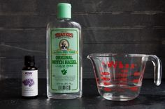 Bedtime spray 1 ounce witch hazel  10 drops lavender essential oil 3 ounces water