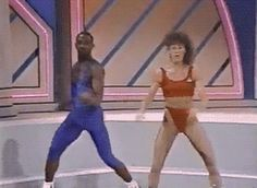 1988 Aerobic Championships...this clip is AWESOME!