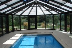 Swimming Pool Enclosures are the rank amongst the top in safety. These Pool Enclosures, when installed properly and with the latch locked will help to keep kids, pets and your nosey neighbor from accidentally running into your swimming pool. http://www.coversinplay.ca/