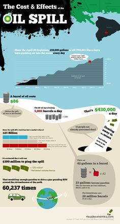 Cost & Effects of the Oil Spill
