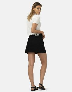 Sophie Rock Chino Shorts, Jeans Rock, Bikini, Casual Shorts, Mini Skirts, Fashion, Sustainable Fashion, Side Bags, High Waist