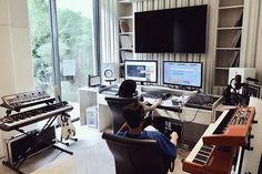 Where it all created. • • #DDAudio #DoubleDeerMusic