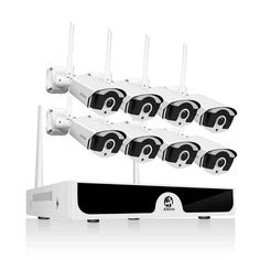 Cctv System Wireless Hd Nvr With Hd Outdoor Infrared Waterpr Wireless Security Camera System, Cctv Security Systems, Bullet Camera, Ip Camera, Embedded Linux, Discount Electronics, Linux Operating System, Home Surveillance, Cool Technology