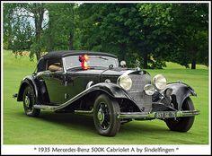 1935 Mercedes Benz 500K Cabriolet by Sindelfingen
