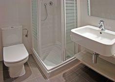 Ba os peque os on pinterest google small bathrooms and - Banos modernos pequenos ...