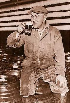 """""""On May 10, 1933 Julius Stroh of the Stroh Brewing Company poured the first legal glass of beer after Prohobition was repealed at an American Legion convention in Detroit.""""  Via Detroit Historical Society.   PureDetroit.com"""