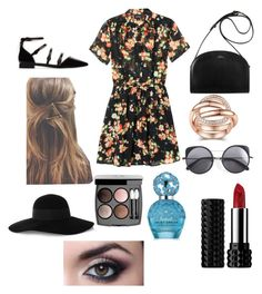 """Untitled #24"" by wcyera on Polyvore featuring Monki, Zara, Eugenia Kim, Wood Wood, Chanel, Kat Von D and Marc Jacobs"