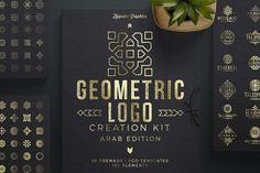 Geometric Logo Creation Kit Arab Ed. by Zeppelin Graphics on @creativemarket
