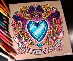 Princess Cadence's Cutie Mark - Commission by danniichan