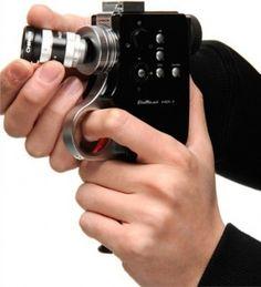 チノン、クラシック8mmカメラ風デザインを採用したFull HDレンズ交換式デジタルカメラ「Bellami HD-1」を3月22日から発売開始