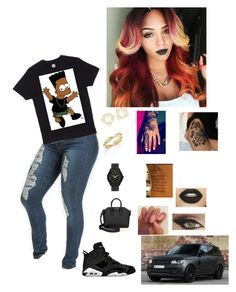 """""""Untitled #193"""" by mirical on Polyvore featuring Retrò, Michael Kors, Givenchy, De Beers and Sanders"""