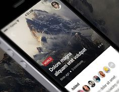 Newstone - Is a new news blog app with new style design, user friendly UX and extremely interesting idea! Create your own articles or add favourite articles to your newsfeed, find new information, read the hottest blogs, share your expertise and have enjo…