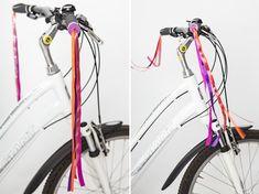 DIY-Anleitung: Lenkerfransen aus bunten Bändern basteln via DaWanda.com Bunt, Baby Kids, Etsy, Bicycle, Backyard Ideas, Do It Yourself Ideas, Decorating Ideas, Creative, Handmade