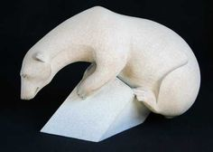 A sculpture titled 'Sinking Feeling (Polar Bear on Iceflow sculpture/statuette/statue)(bronze)' by artist Adam Binder in the category Wild Animals and Wild Life Sculptures. This sculpture has the dimensions of 23 x 34 x 16 cm, the sculpture is sculpted from a medium of 'bronze'. Polar Bear, this piece won Adam the David Shepherd Wildlife Artist of the Year 2010 and has since sold out. He has others in the same Genre so scroll down. Polar Shift