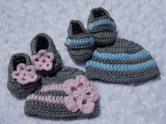 Crochet set  by LalasBabyBoutique, $30.00