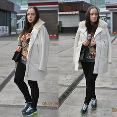 leo Air Max 90, Nike Air Max, New Year 2014, Black Ripped Jeans, My Outfit, Leo, Sweatshirts, Coat, Jackets