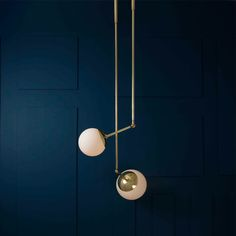 Tango 2 Glass Globe by Paul Matter | The House of Things | Contemporary Lighting | Lighting Design | Pendant Lamps | Chandelier | Minimal | Handcrafted Brass