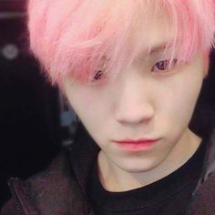 I. LOVE. PINK. HAIRED. WOOZI.