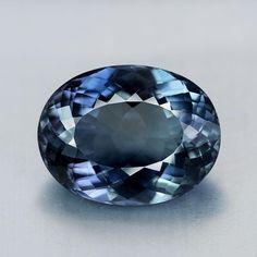 5.62CT Unheated Blue Sapphire Cabochon Oval Natural Loose Gemstone Myanmar Burma