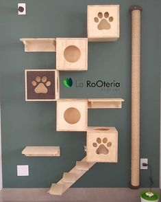 Cats house cnc ideas for 2019 Animal Room, Cat Walkway, Cat Wall Shelves, Cat Hotel, Cat House Diy, Diy Cat Tree, Cat Hacks, Cat Towers, Cat Playground