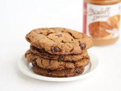 Flourless Biscoff Cookies