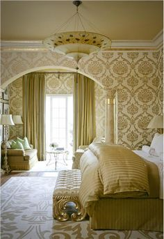Elegant Traditional Bedroom by Tobi Fairley