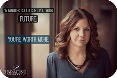 Your work more with Paradiso Insurance and your future depends on it #ParadisoInsurance #Insurance