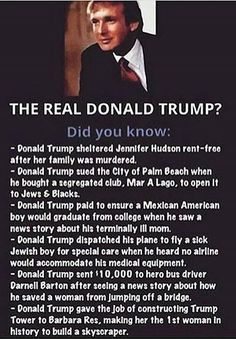"""Some more fake , made up ,"""" alternative facts"""" by the racist pussy grabbing draft dodging asshole God Family Country, Real Donald Trump, Donald Trump Facts, Great Quotes, Inspirational Quotes, Motivational Quotes, Trump Is My President, Vote Trump, Pro Trump"""