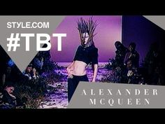 "Alexander McQueen's Controversial ""Highland Rape"" Show - #TBT with Tim B..."
