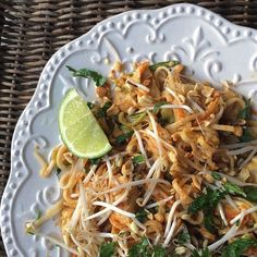 Pad Thai. Not a noodle was left. #delicious #fodmaps will post recipe on blog, promise.