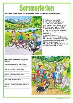bildbeschreibung sommerferien - Bildbeschreibung Spanisch Beispiel