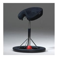 The Ergonomic Saddle Stool By Ergocentric Combines The