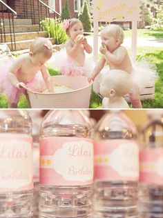lemonade-tutu-party first birthday.... oh wow.. friends.. have baby girls with me at the same time so we can do this.. just kidding.. kind of.