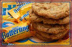 Hugs & CookiesXOXO: BUTTERFINGER COOKIES