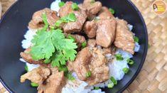 หมูตุ๋นสูตรบ้านๆง่ายๆ เทคนิคหมูเปื่อยนุ่มไวใน 30 นาที ข้าวหน้าหมูตุ๋นนุ่มเด้ง หอม อร่อย ใครๆก็ทำได้|ครัวแม่ผึ้ง - Pantip Thai Cooking, Meat, Chicken, Recipes, Food, Recipies, Essen, Meals, Ripped Recipes