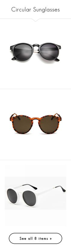 """""""Circular Sunglasses"""" by sunglassesoffers ❤ liked on Polyvore featuring accessories, eyewear, sunglasses, tortoise shell sunglasses, tortoise shell round glasses, tortoiseshell sunglasses, uv protection glasses, tortoiseshell glasses, purple sunglasses and round lens sunglasses"""