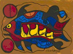 Woodland art symbolism interpreted Native Art in Canada Kunst Der Aborigines, Woodland Art, Aboriginal Painting, Indigenous Art, Native Art, Pictures To Paint, First Nations, Art Market, Indian Art