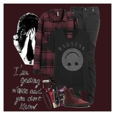 """""""End of the world: Juliet Simms"""" by steady-smile ❤ liked on Polyvore featuring H&M, Zoe Karssen, Disney, Dr. Martens, Too Faced Cosmetics, Chantecaille, Glitzy Rocks and Betsey Johnson"""