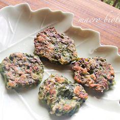 塩蒸しした青ネギに、全粒粉を混ぜて焼きました。 モチモチカリカリで、ちょっとしたおかずに。 ネギを美味しくたっぷり食べられた、大満足の朝ごはん♪ - 13件のもぐもぐ - ♪マクロビ♪青ネギの一口チジミ by koumei19