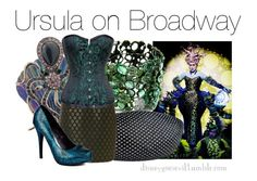 """""""Ursula"""" by disney-villains ❤ liked on Polyvore featuring Fantasy Jewelry Box, Jane Norman and Michael Antonio"""