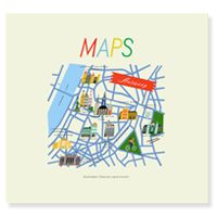 Maps Illustrated Cities by Lena Corwin