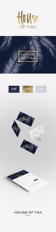 Cocorrina: NEW IN PORTFOLIO: HOUSE OF TAX BRANDING
