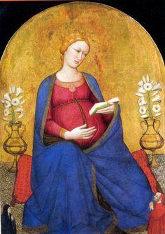 Antonio Veneziano, Madonna del parto, Pieve di Montefiesole (Fi), XIV sec.