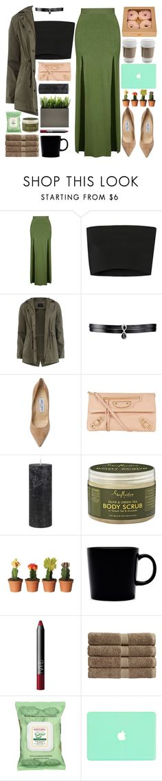 """Fall Date"" by igedesubawa ❤ liked on Polyvore featuring Topshop, Calvin Klein Collection, Dorothy Perkins, Fallon, Jimmy Choo, Balenciaga, DAY Birger et Mikkelsen, SheaMoisture, iittala and NARS Cosmetics"