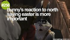 #256 - bunny's reaction to north saying easter is more important