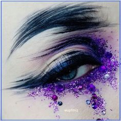 Artist Makeup, Eye Makeup Art, Eye Art, Eyebrow Makeup, Beauty Makeup, Hair Beauty, Makeup Goals, Makeup Inspo, Makeup Inspiration
