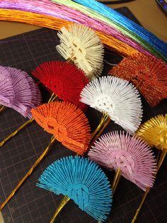 New Year ornaments  Nagasawa betrothal gift shop Co., Ltd.有限会社ながさわ結納店 HAKATAMIZUHIKI#japan #mizuhiki #wedding #yuino#fukuoka#hakata
